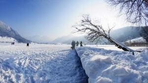Wintersport in Schliersee Schlittschuhlaufen